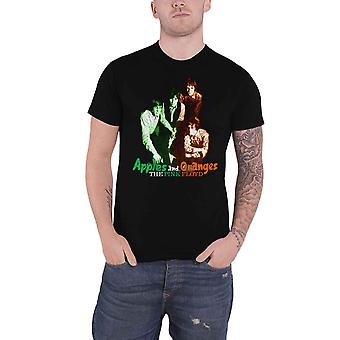 Pink Floyd T Shirt Apples And Oranges Band Logo nouveau Official Mens Black