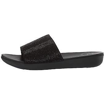 FitFlop Women's Sola Crystalled glijbaan sandaal