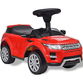Land Rover 348 Kinder-Auffahrauto mit Musik Rot