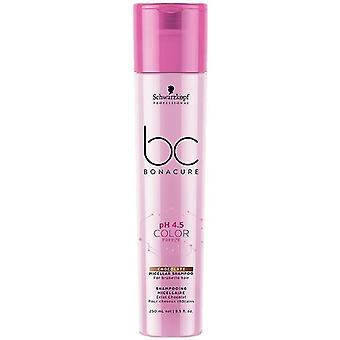 Schwarzkopf Professional Bonacure Ph 4,5 Color Freeze Champú cioccolato 250 ml