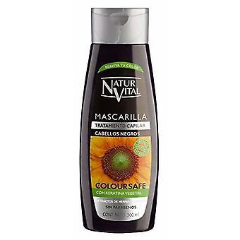 Naturaleza y Vida Masque capillaire pour cheveux noirs 300 ml