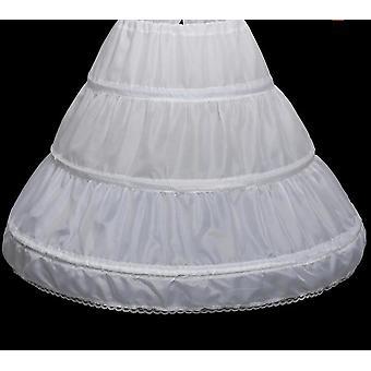 Blume Underskirt Party kurzes Kleid