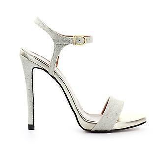Marc Ellis Platinum Glitter Sandal