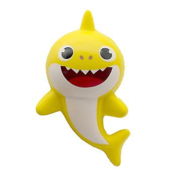 Langzame Rebound Cartoon Shark baby zachte en kneepbare Pu Simulatie Decompressie Speelgoed