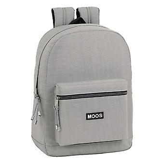 Laptop Backpack Moos 15,6'' Light Grey