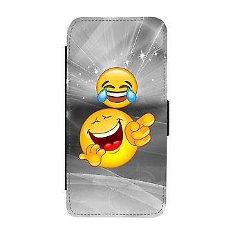 Emoji Laughing Samsung Galaxy A52 5G Wallet Case