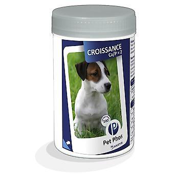 Pet-fos Hond Groei Cap2 500 Tabletten (Honden , Supplementen)