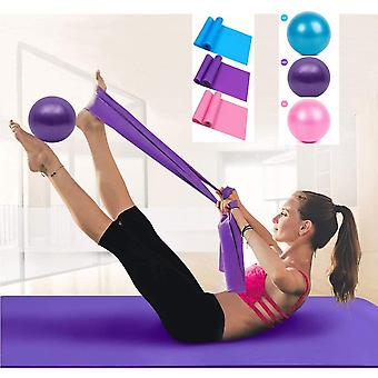 Gerui Latex Resistance Bands and Yoga Ball