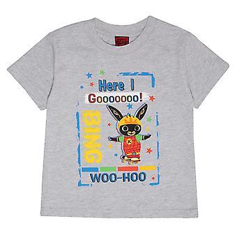 Bing Boys Here I Go Woo Hoo T-Shirt