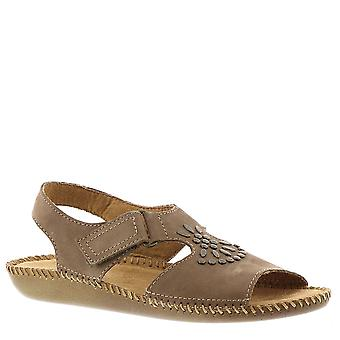 Auditions Womens Devine Open Toe Casual Slingback Sandals