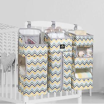 Baby Bed Organizer Hanging Bags For Newborn Crib Diaper Storage Bags Baby Care Organizer Infant Bedding Nursing Bags