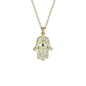 Elli Necklace with Women's Pendant in Silver 925 with Round Crystal 2021