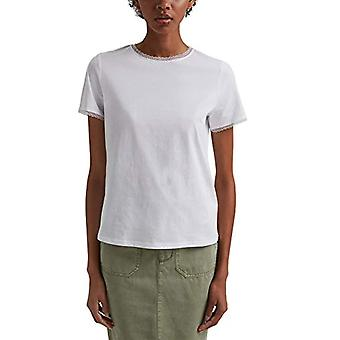edc av Esprit 031CC1K308 T-Shirt, 100/white, L Woman