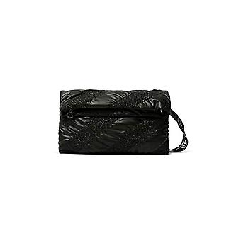 Desigual Fabric Across Body Bag, Donna, Nero, U(3)
