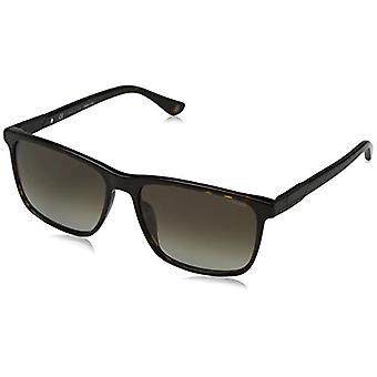 Police WESTWING 4 Sonnenbrille, Braun (Shiny Dark Havanna/Brown), 58.0 Herren