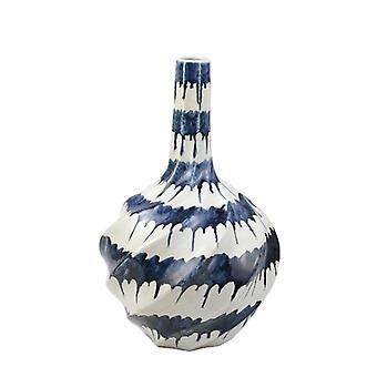 فريدة من نوعها نازف الأزرق الرطب تصميم السيراميك مزهرية