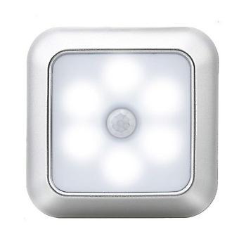6 Led Square Motion Sensor Night Light
