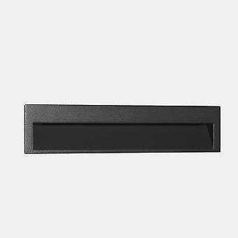 LEDS C4 Pieni Suuri Ulko-LED upotettu seinävalo Suuri Urbaani harmaa IP65 5.9W 3000K