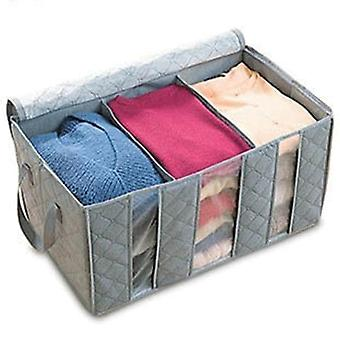 Non Woven Fabric Storage Box For Clothing Underwear Pillow Closet Organizer|Foldable Storage Bags