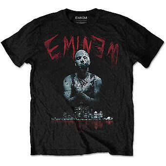 Eminem - Bloody Horror Mäns X-Large T-Shirt - Svart