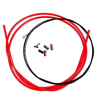 Box Concentric Linear Brake Cable Kits Red
