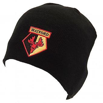 Watford FC strikket hatt
