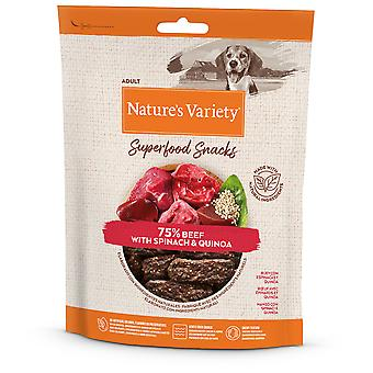 Nature's Variety Snacks Superfoods Beef (Dogs , Treats , Natural Treats)