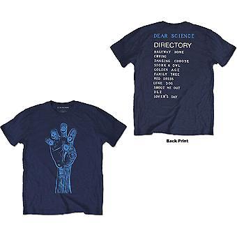 TV On The Radio - Brushstroke Hand Unisex XX-Large T-Shirt - Blue