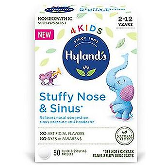 Hylands Sinus & Stuffy Nose, 50 Count