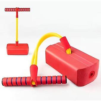 Rode kinderen fitness speelgoed, outdoor springen evenwicht zin indoor trainingsapparaat az13499