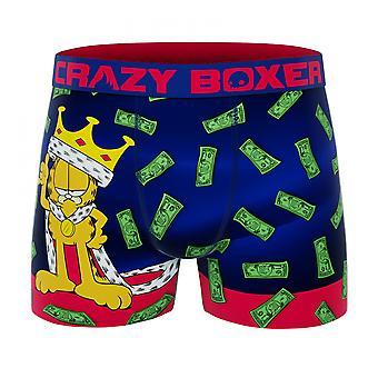 Crazy Boxer Garfield King Men's Boxer Briefs