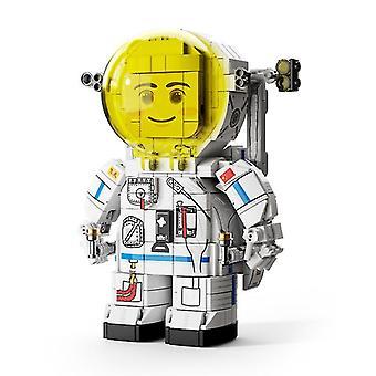 Schattige astronaut bouwstenen speelgoed voor kinderen