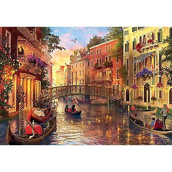 Educa Sunset in Venice Jigsaw Puzzle (1500 Pieces)
