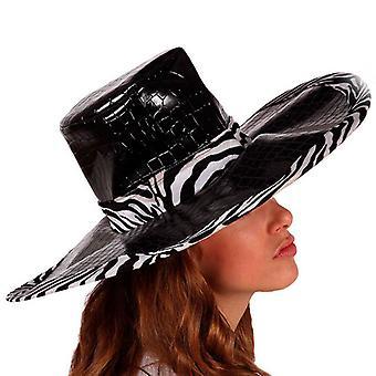 Hat Zebra Black 115960