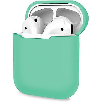 Protective Cover, Resistant Case for Apple AirPods 1, 2 -Green(Green)