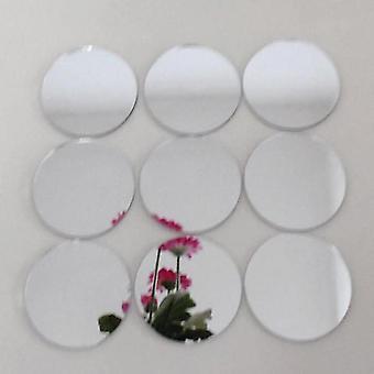 Runde Acryl Spiegel Mosaik Fliesen Kreis