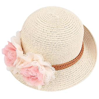 Baby Kids Summer Flower Sun Adumbral Hat Beach Cap