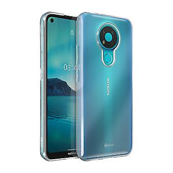Cover for Nokia 3.4 Resistant Flexible Silicone Jelly Roar Clear