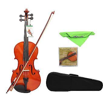 16 Inch Solid Maple Viola With Case Bow Bridge Strings Instruments Violin