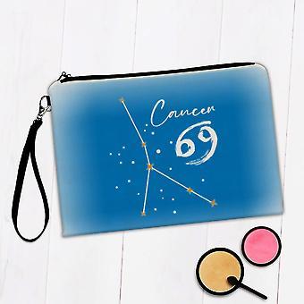 Gift Makeup Bag: Cancer Constellation Zodiac