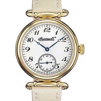Ingersoll Grey Genuine Leather IN1320GSL Women's Watch