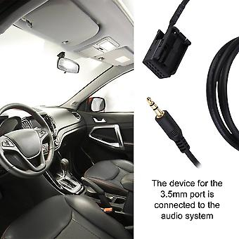 3.5mm Audio Aux In Cable Line Adapter For Opel Cd30 Mp3 1.5m Length