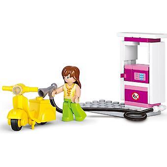 Lego Friends Gas Station Building Blocks Toy