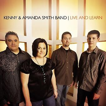 Kenny Smith & Amanda Band - Live & Learn [CD] USA import