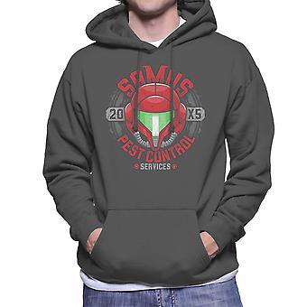 Metroid, Samus Pest Control mannen Hooded Sweatshirt