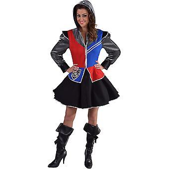 Vrouwen kostuums vrouwen ridder kostuum vrouw
