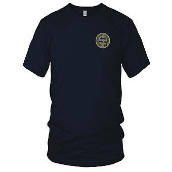 VC NVA Noord-Vietnam aan Quoc Nhan Dan - vaderland Vietnamoorlog geborduurde Patch - Mens T Shirt
