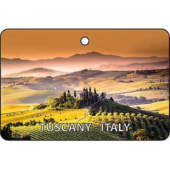 Tuscany - Italy Car Air Freshener
