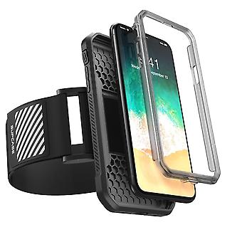 iPhone X Armband, SUPCASE Easy Fitting Sport Running Armband Case, Iphone x