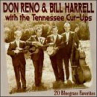 Reno/Harrell/Tennessee Cut-Ups - 20 Bluegrass Favorites [CD] USA import